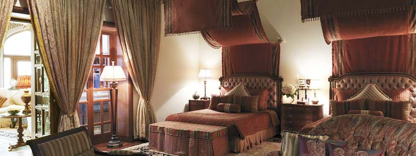 Rooms at Taj Rambagh Palace in Jaipur