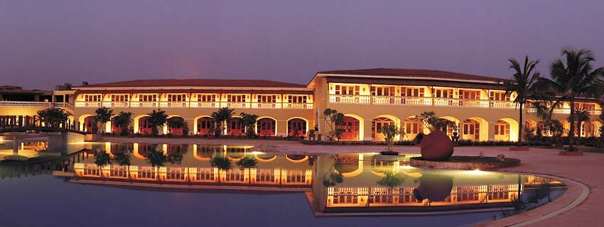 Outside View of The Lalit Golf and Spa Resort in Goa