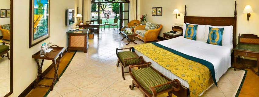 Rooms at The Lalit Golf and Spa Resort in Goa