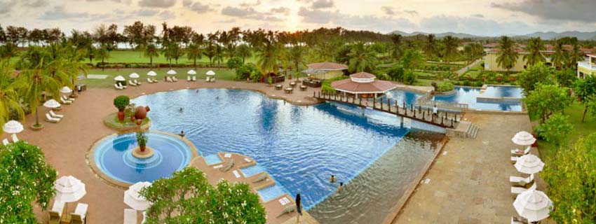 Poolside at The Lalit Golf and Spa Resort, Goa