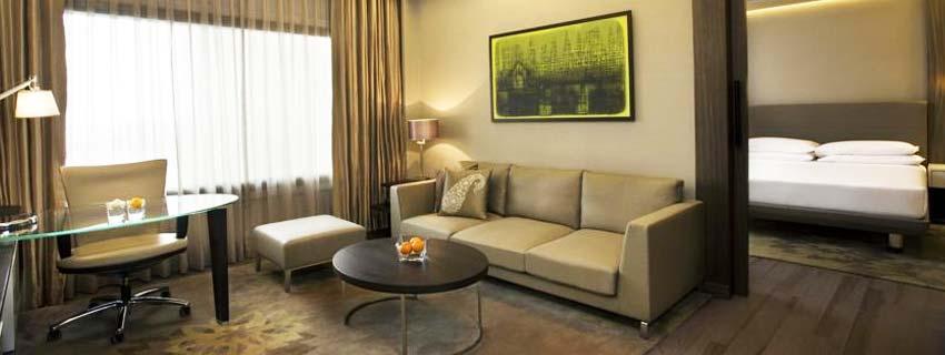 Sitting Area at Hyatt Regency, Delhi