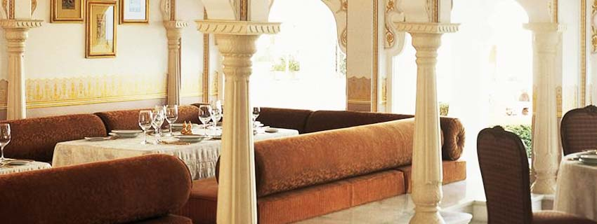 Dining Area at Taj Lake Palace, Udaipur