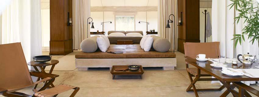 Luxury Rooms of Aman i Khas, Swai Madhopur