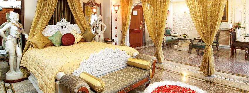 Luxury Rooms at Shiv Vilas Palace, Jaipur
