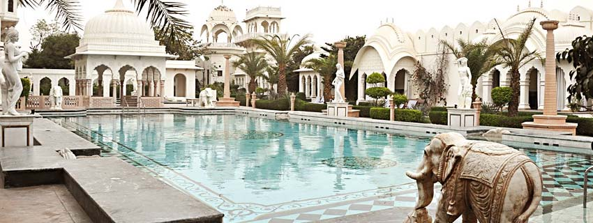 Swimming Pool at Shiv Vilas Palace, Jaipur