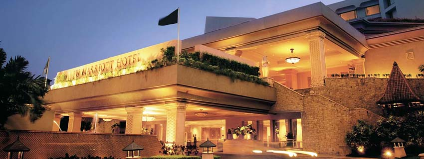 Outside View of JW Marriott, Mumbai