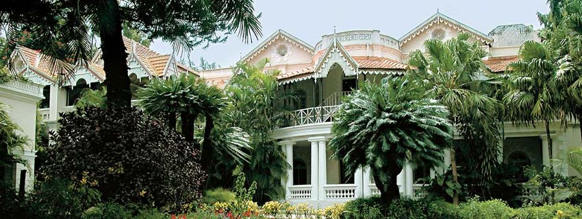 Outside View of Taj West End in Bangalore