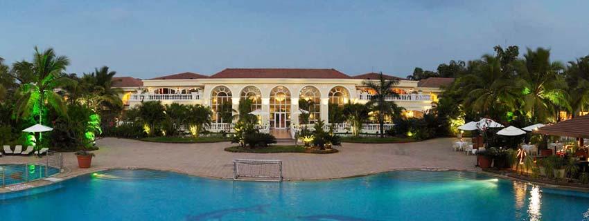 Outside view of Zuri White Sands Resort, Goa