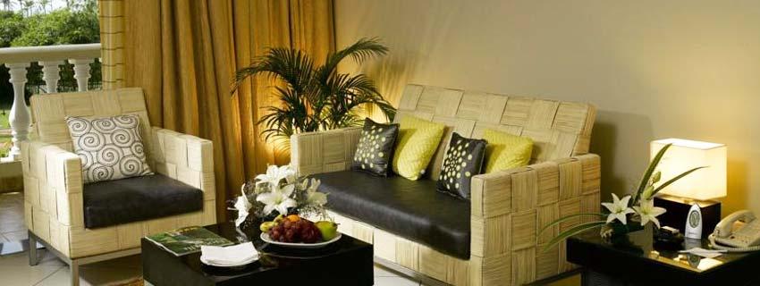 Sitting Area at Zuri White Sands Resort, Goa