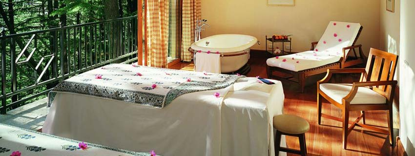 Spa at Wild Flower Hall, Shimla