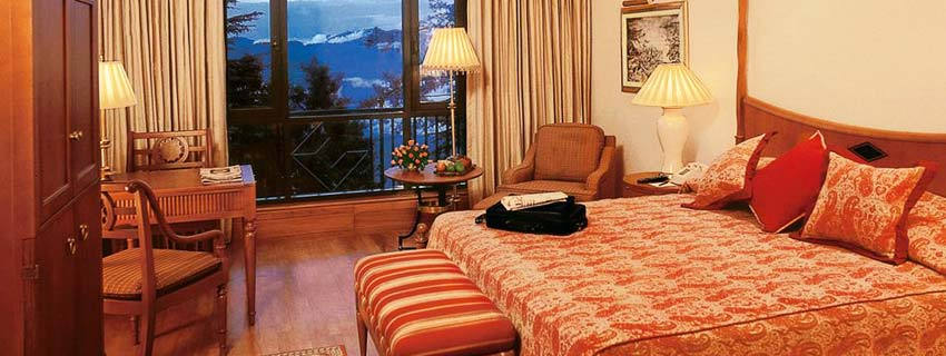 Rooms at Wild Flower Hall, Shimla