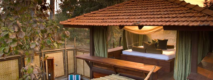 Lodges at Taj Baghvan, Pench National Park