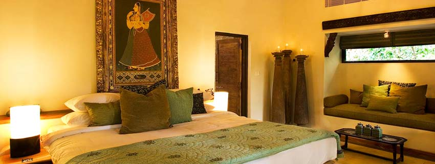 Rooms at Taj Baghvan, Pench National Park