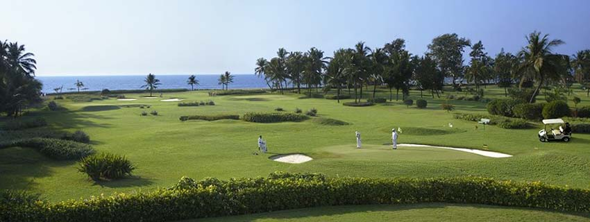 Golf Course at The Leela Goa
