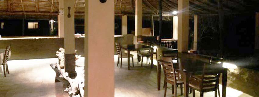 Restaurant at Bagh Sarai, Bandhavgarh National Park