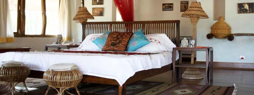 Rooms at Bagh Sarai, Bandhavgarh National Park