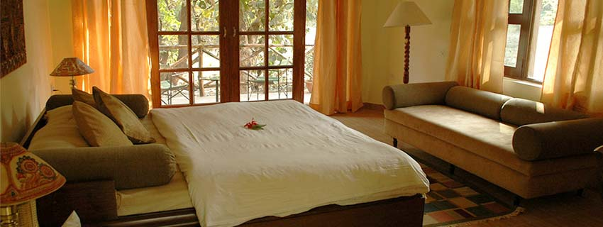 Rooms at Jungle Lodge, Bandhavgarh National Park