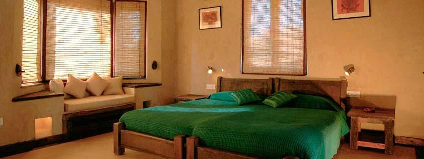 Rooms at Kings Lodge, Bandhavgarh National Park