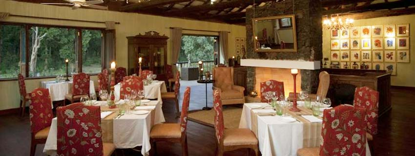 Restaurant at Samode Safari Lodge, Bandhavgarh National Park