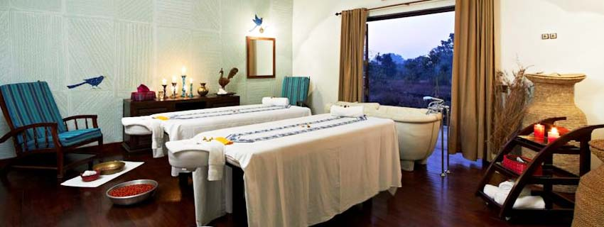 Spa at Samode Safari Lodge, Bandhavgarh National Park