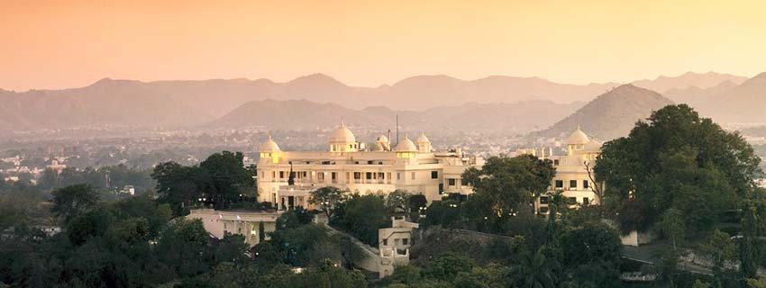 Outside View of Laxmi Vilas Palace, Udaipur