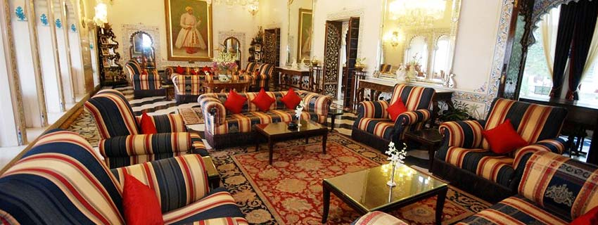 Sitting Area at Shiv Niwas Palace, Udaipur