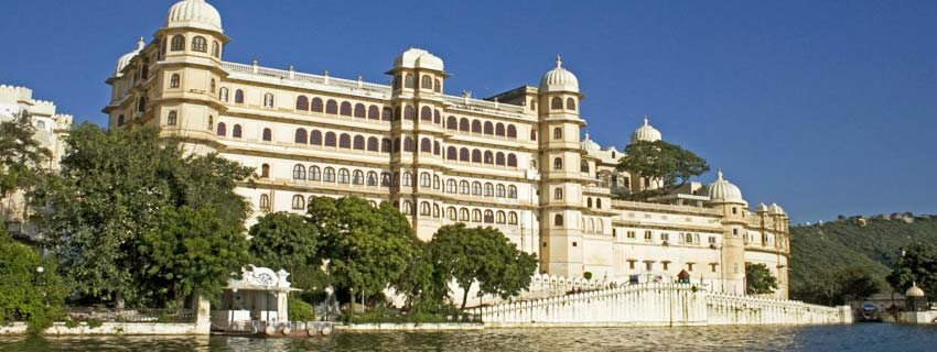 Outside View of Fateh Prakash Palace in Udaipur