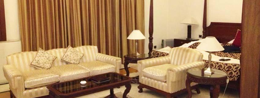 Sitting Area at Raj Mahal Palace, Jaipur