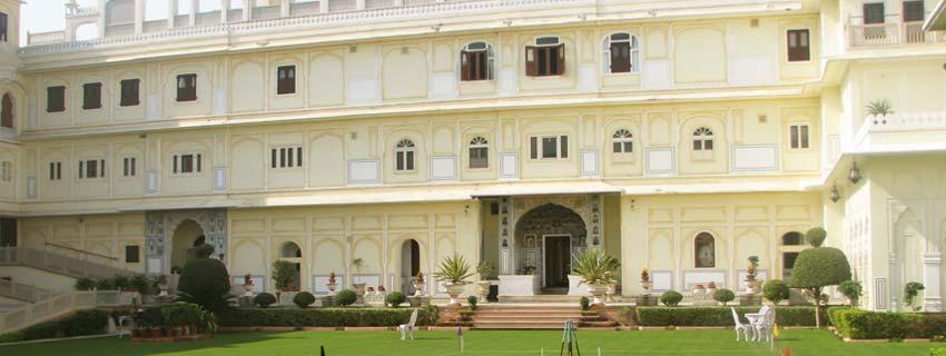 Outside View of Raj Mahal Palace, Jaipur