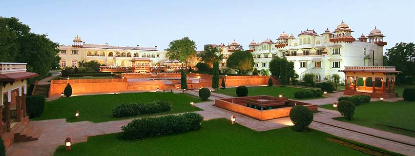 Outside View of Taj Jai Mahal Palace, Jaipur