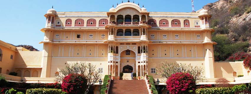 Outside View of Samode Palace, Jaipur