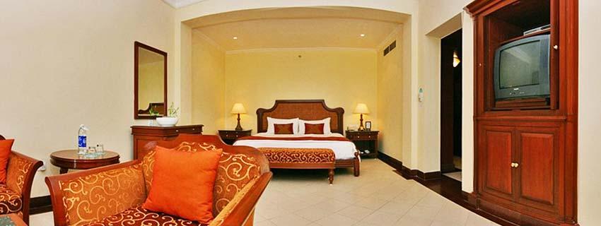 Rooms at Taj Exotica, Goa