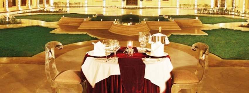 Restaurant at Suryagarh, Jaisalmer