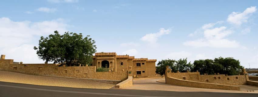 Outside View of Taj Gateway Hotel in Jaisalmer