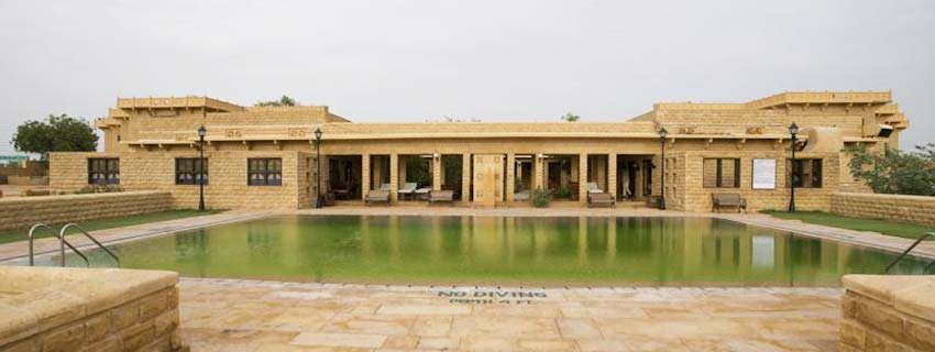 Swimming Pool at Taj Gateway Hotel, Jaisalmer