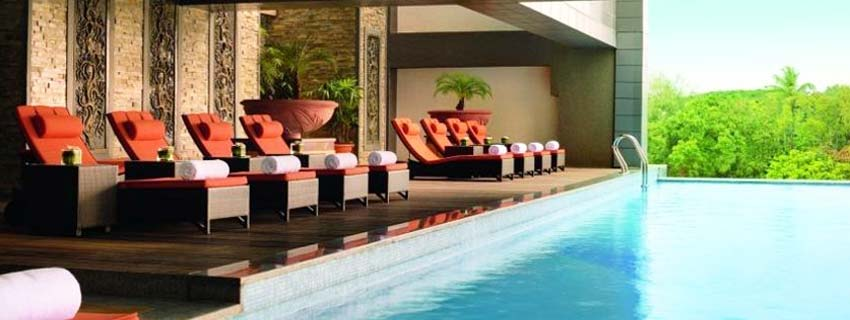 Swimming Pool at Movenpick Hotel and Spa, Bangalore