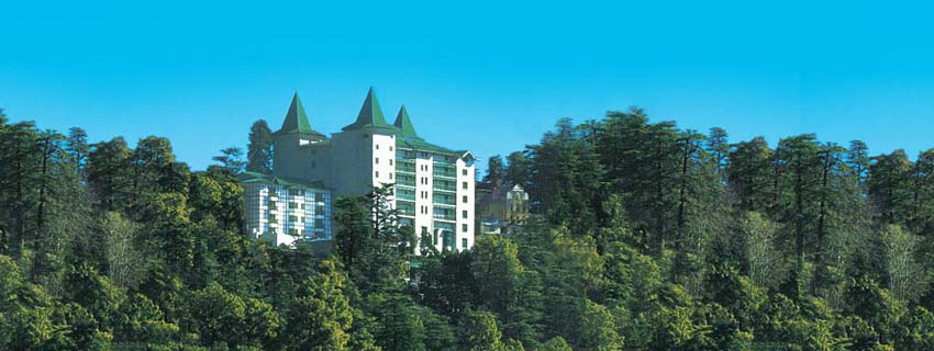 Outside View of Oberoi Cecil, Shimla