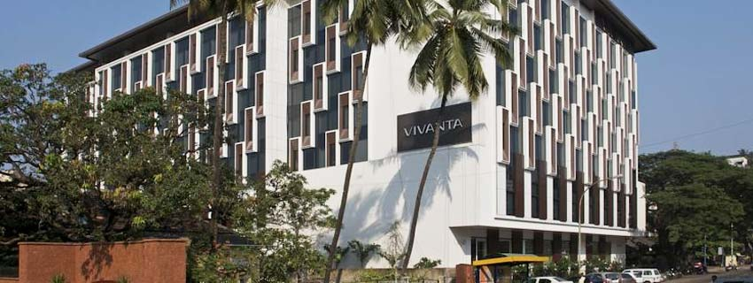 Outside View of Vivanta by Taj Panaji, Goa