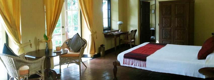 Bedroom at Old Harbor, Kochi