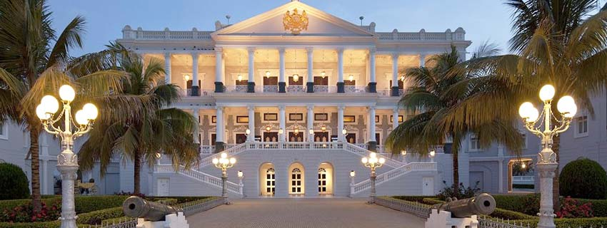 Outside View of Taj Falaknuma Palace, Hyderabad
