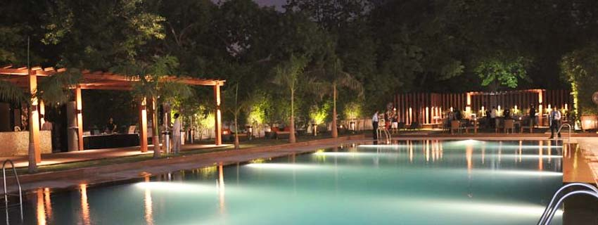 Swimming Pool at Clarion Collection in Delhi