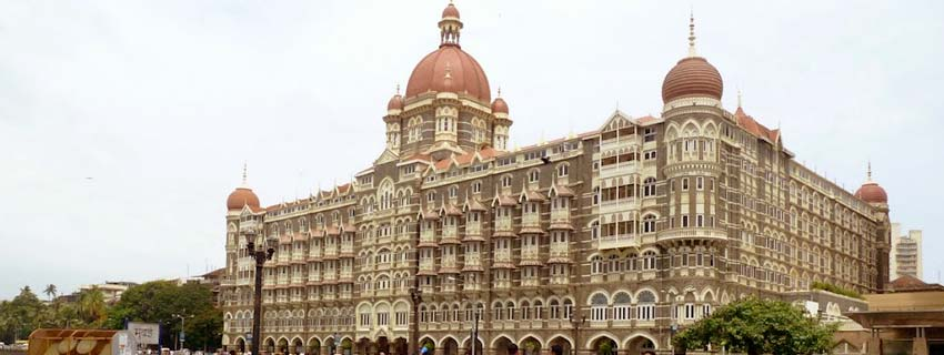 Outside View of The Taj Mahal Palace and Tower, Mumbai