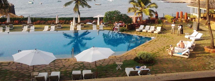 Poolside at Vivanta by Taj Fort Aguada, Goa