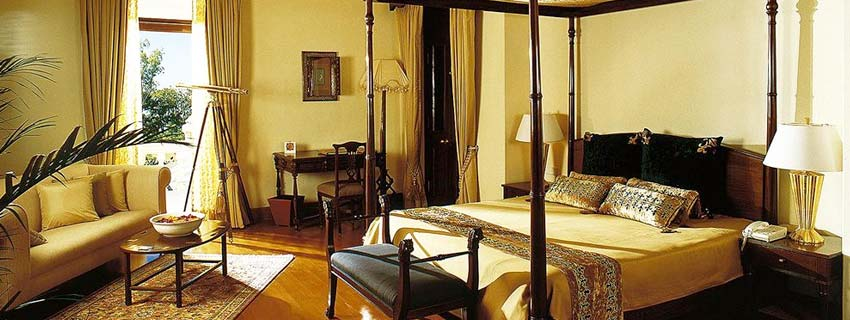 Rooms at Ananda in the Himalayas