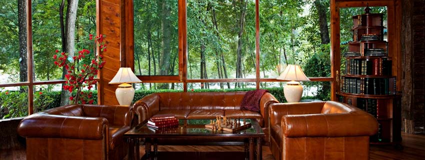 Sitting Area at Moksha Spa Resort, Himalayas