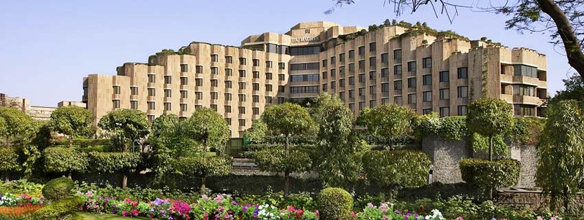 Outside View of ITC Maurya, Delhi