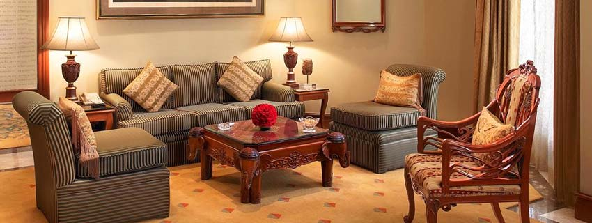 Sitting Area at ITC Maurya, Delhi