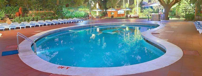 Swimming Pool at Hotel Clarks Shiraz, Agra