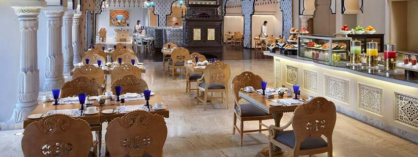 Restaurant at Fairmont, Jaipur