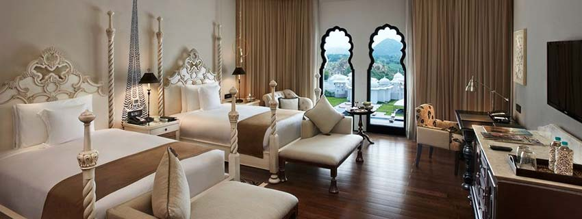 Rooms of Fairmont Jaipur